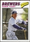 2012 Topps Archives Cloth Stickers #RY Robin Yount
