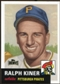 2012 Topps Archives Reprints #191 Ralph Kiner