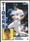2012 Topps Archives #230 Lance Parrish SP