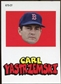 2012 Topps Archives Stickers #CY Carl Yastrzemski
