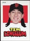 2012 Topps Archives Stickers #TL Tim Lincecum
