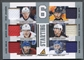 2011/12 Pinnacle #35 Johansen Smith Kruger Savard Emelin Scrivens Starting Six Jersey