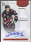 2011/12 Panini Rookie Anthology #145 Stephane Da Costa Rookie Jersey Auto #038/499