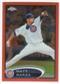 2012 Topps Chrome Orange Refractors #95 Matt Garza