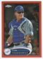 2012 Topps Chrome Orange Refractors #157 Tim Federowicz