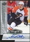 2010/11 Upper Deck Black Diamond Gemography #GDC Daniel Carcillo Autograph