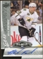 2010/11 Upper Deck Black Diamond Gemography #GMF Mark Fistric Autograph