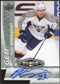 2010/11 Upper Deck Black Diamond Gemography #GPH Patric Hornqvist Autograph