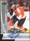 2010/11 Upper Deck Black Diamond Gemography #GRP Ryan Parent Autograph