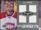 2010/11 Upper Deck Black Diamond Jerseys Quad #QJCP Carey Price