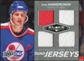 2010/11 Upper Deck Black Diamond Jerseys Quad #QJDH Dale Hawerchuk