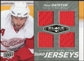 2010/11 Upper Deck Black Diamond Jerseys Quad #QJPD Pavel Datsyuk