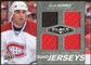 2010/11 Upper Deck Black Diamond Jerseys Quad #QJSG Scott Gomez