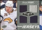 2010/11 Upper Deck Black Diamond Jerseys Quad #QJTV Thomas Vanek