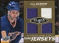 2010/11 Upper Deck Black Diamond Jerseys Quad Gold #QJDG Doug Gilmour /25