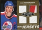 2010/11 Upper Deck Black Diamond Jerseys Quad Gold #QJDH Dale Hawerchuk 7/25