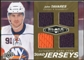2010/11 Upper Deck Black Diamond Jerseys Quad Gold #QJJT John Tavares 1/25