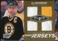2010/11 Upper Deck Black Diamond Jerseys Quad Gold #QJRB Ray Bourque 24/25