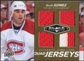 2010/11 Upper Deck Black Diamond Jerseys Quad Gold #QJSG Scott Gomez 1/25