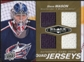 2010/11 Upper Deck Black Diamond Jerseys Quad Gold #QJSM Steve Mason /25