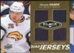 2010/11 Upper Deck Black Diamond Jerseys Quad Gold #QJTV Thomas Vanek /25