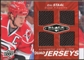 2010/11 Upper Deck Black Diamond Jerseys Quad Ruby #QJES Eric Staal /50