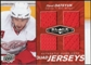 2010/11 Upper Deck Black Diamond Jerseys Quad Ruby #QJPD Pavel Datsyuk 2/50