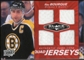 2010/11 Upper Deck Black Diamond Jerseys Quad Ruby #QJRB Ray Bourque /50
