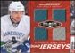 2010/11 Upper Deck Black Diamond Jerseys Quad Ruby #QJSB Steve Bernier 48/50