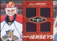 2010/11 Upper Deck Black Diamond Jerseys Quad Ruby #QJVO Tomas Vokoun /50