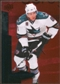 2010/11 Upper Deck Black Diamond Ruby #68 Joe Pavelski /100