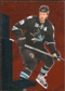 2010/11 Upper Deck Black Diamond Ruby #181 Joe Thornton /100