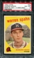 1959 Topps Baseball #40 Warren Spahn (1931 - 3 Obscured) PSA 8 (NM-MT) *7181