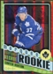 2012/13 Upper Deck O-Pee-Chee Black Rainbow #593 Carter Ashton 75/100