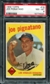 1959 Topps Baseball #16 Joe Pignatano PSA 8 (NM-MT) *4024