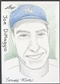 2012 Leaf Best of Baseball Joe DiMaggio Sketch #1/1