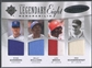 2009 Ultimate Clemente Bunning Bench Perez Sandberg Williams Brock Schoendienst Jersey #01/35