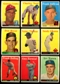 1958 Topps Baseball Starter Set (107 Cards) VG