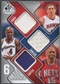 2009/10 SP Game Used #6SBPCJHN Nowitzki Hughes Pierce Bibby Carter Jamison Jersey #47/99