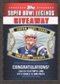 2011 Topps Super Bowl Legends Giveaway #SBLG7 Tom Brady