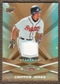 2009 Upper Deck Spectrum Gold Jersey #6 Chipper Jones /99