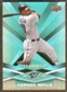 2009 Upper Deck Spectrum Turquoise #98 Vernon Wells /25