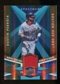 2009 Upper Deck Spectrum Spectrum Swatches Light Blue #SSDP Dustin Pedroia /99