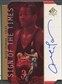 1998/99 SP Authentic #AI Allen Iverson Sign of the Times Gold Auto