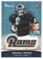 2012 Topps Bowman #111A Isaiah Pead RC/right hand at chin