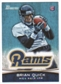 2012 Topps Bowman #168A Brian Quick RC/with football