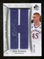 2010/11 Upper Deck SP Authentic #206 Cole Aldrich RC Letter Patch Autograph /149