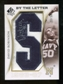 2010/11 Upper Deck SP Authentic By The Letter Legend Last Name #LRO David Robinson Autograph /30