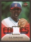 2007 Fleer Ultra Faces of the Game Materials #CS C.C. Sabathia