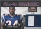 2011 Panini Threads #30 Stevan Ridley Rookie Collection Materials Patch #49/50